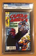 Captain America # 25 Cgc 9.8. Hasbro Variant! (12/14).