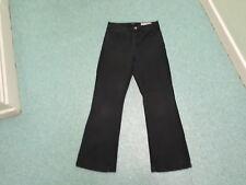 "NYDJ Bootcut Jeans Size 10 Leg 30"" Black Faded Ladies Jeans"