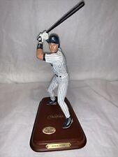 1999 Danbury Mint ~ Derek Jeter New York Yankees~All Star Figurine w/ Wood Base