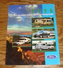 Original 1996 Ford Recreation Vehicle & Trailer Towing Guide Sales Brochure 96