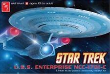 AMT Models 661 Star Trek USS Enterprise 1701-C 1/2500 Scale Plastic Model Kit