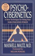 Psycho-Cybernetics  (ExLib) by Maxwell Maltz
