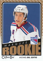 09/10 O-PEE-CHEE OPC ROOKIE RC #777 MICHAEL DEL ZOTTO RANGERS *21606