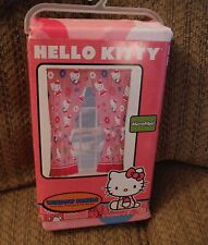 NEW HELLO KITTY Set of Window Panels & Tie-Backs - How Sweet It Is