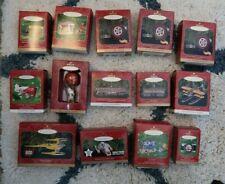 *Vintage* Lot of 14 Hallmark Keepsake Ornaments Collectors Series - Nib