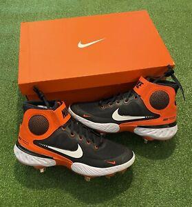 NIB! Nike Aplha Huarache Elite 3 MD Cleats Men's Size 9.5 (CK0745 003) MSRP 95$