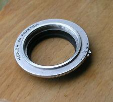 Konica F FM FS SLR mount  m42 lens adapter