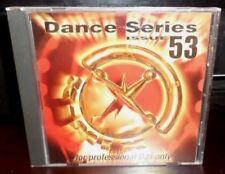DANCE SERIES 53 PROMO CD N'SYNC ENRIQUE IGLESIAS LA RISSA BRIAN MCKNIGHT BLUE DA