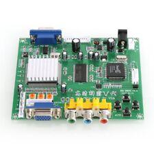 Arcade Game RGB/CGA/EGA/YUV to VGA HD Video Converter Board HD9800/GBS8200 BR
