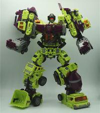 WEI JIANG 6 IN 1 New NBK Devastator Toy Transformation KO Robot Car
