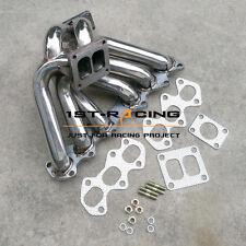 Turbo Manifold For Toyota Supra MKIV JZA8  Aristo V300 2JZGTE T4 Stainless Steel