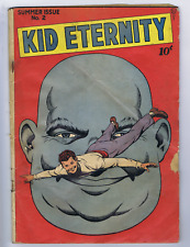 Kid Eternity #2 Comic Magazine 1946