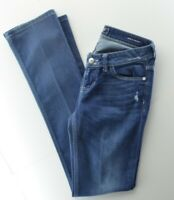 Guess Los Angeles Starlet Straight Legs Blue Womens Jeans Sz. 27 x 32