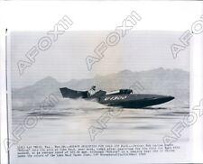 1960 Speed Boat Driver Bob Larson Gold Cup Qualify in Kolroy Press Photo