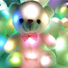 Funny Stuffed Night Light Plush Teddy Bear Soft Gift Doll For Baby Girl