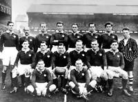 OLD LARGE PHOTO RUGBY UNION TEAM, the 1938 Scotland team
