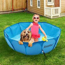 Alvantor Kids Play Bath Tub Pet Dog Cat Outdoor Indoor Swimming Pool Portable