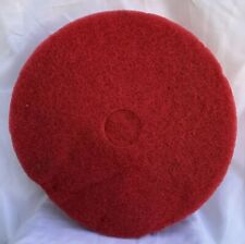 "20"" Red Synthetic Floor Scrubbing Fiber Pad 4020 Set Of Three"