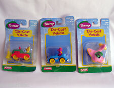 BARNEY  BABY BOP and  BJ  DieCast Vehicles Figures Toy -  ~ RARE~ NEW!!