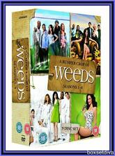 WEEDS - COMPLETE SEASONS 1 2 3 & 4  - **BRAND NEW & SEALED DVD BOXSET