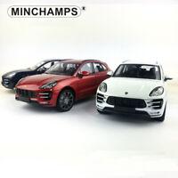Minichamps 1:18 PORSCHE MACAN TURBO SUV Diecast Model Car Toys Collection W/Case