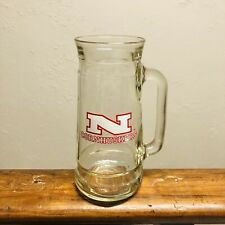 Nebraska Cornhuskers Vintage Fisher Peanuts Beer Stein Mug