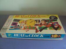 Vintage Beat The Clock Game 1969 Milton Bradley