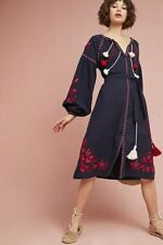 NWT Anthropologie Madalyn Embroidered Shift Dress by Child of the Universe Small