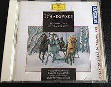 CD: TCHAIKOVSKY Symphony No 5 NUTCRACKER SUITE Mravinsky / Karajan