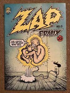 ZAP COMIX #0 (Apex Novelties 1968) RARE! Robert Crumb!  FN+