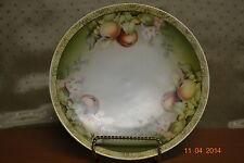 Vntg. Sevres Decorator Plate Bavarian Porcelain Hand Painted Artist Signed