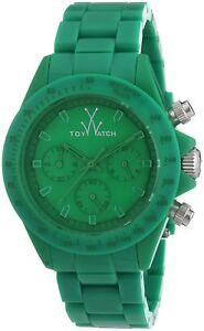 ToyWatch Women's Green Dial Green Plastic Strap Quartz Watch MO11GR
