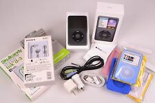 Mint in Box Black Apple iPod Classic 160Gb 7th Gen Low Power On Hours CAR KIT