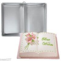 """Moule Gateau en Aluminium """"Livre Ouvert"""" Gateaux Patisserie Cake Design"""