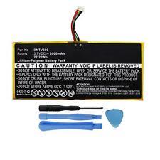 "6000mAh GB-S02-308594-0100 Battery for Barnes & Noble NOOK HD+ Plus 9"" BNTV600"