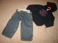 OKB8/9 NWT 2T Osh Kosh blue hoodie sweatshirt pants lot