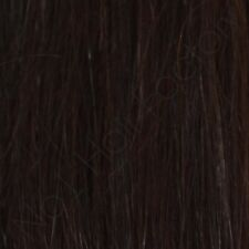 """18"""" 7''Inches Wide Clip In 100% Remy Human Hair Extensions Dark Brown 2#"""