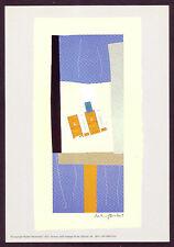 1970s Vintage Robert Motherwell Offset Lithograph Abstract Art Print