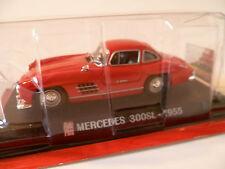 MERCEDES 300 SL ROUGE de 1955 : IXO ~  NEUF