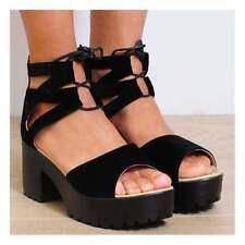 Unbranded Synthetic Block Platform & Wedge Heels for Women