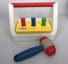Little tikes Toolbox Flip Flop tool box hammer vintage OT therapy toy