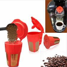 3 Pack Keurig 2.0 Refillable K-Carafe Reusable Coffee Filter Replacement Orange
