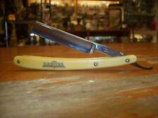 ZARTINA CUTLERY WORKS Vintage Straight Razor 9/16 Blade Solingen Germany