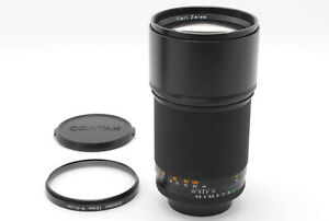 【MINT+++】Contax Carl Zeiss Sonnar T* 180mm f/2.8 MMJ MF CY Mount Lens From JAPAN