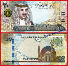 BAHRAIN BAREIN 20 Dinars dinares 2016 Pick NEW  SC / UNC