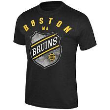 "Boston Bruins G-III ""Breakaway"" Black NHL Tri Blend Short Sleeve Tee Adult XL"