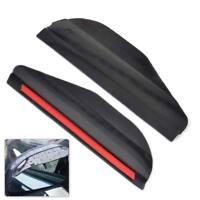 2x Auto Rückspiegel  Regenschutz Sonnenschutz Sonnenblende Anti Regen Schwarz