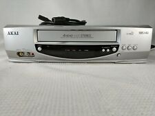 AKAI VR870 VCR Video Cassette Recorder / 4 Head HIFI Stereo Made In Japan