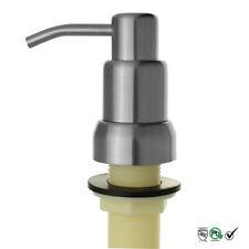 Kitchen Sink Liquid Soap Dispenser 304 Stainless Steel Satin Finish 17OZ 500ML