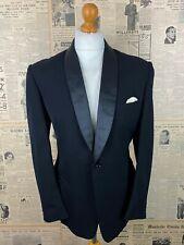 Vintage 1960's single breasted dinner suit DJ size 40